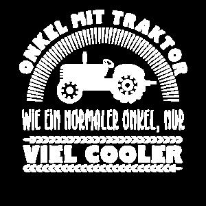 Onkel mit Traktor