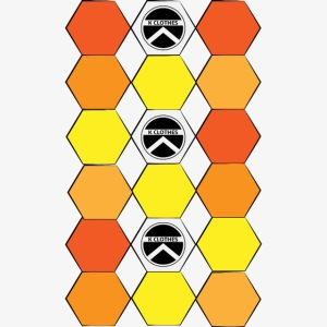 |K·CLOTHES| HEXAGON ESSENCE ORANGES & YELLOW