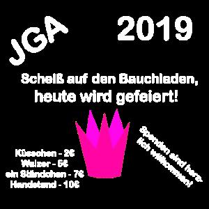 JGA 2019 Geschenk Geiler Abend Feiern Freunde