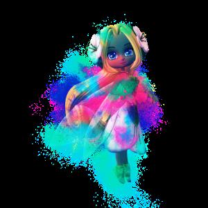 Toon Flügel farbenfroh
