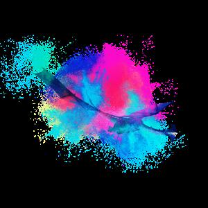 Drachen Fantasie farbenfroh