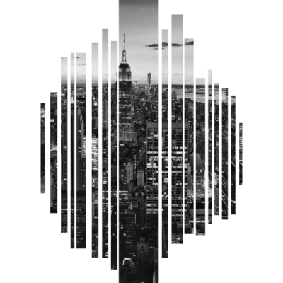 Große Stadt schwarz weiß - Große Stadt schwarz weiß - geschenkidee,geschenk,Stadtteil,Stadtbild,Stadt,Große Stadt schwarz weiß