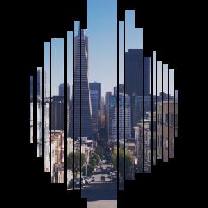 Stadt eine große Stadt