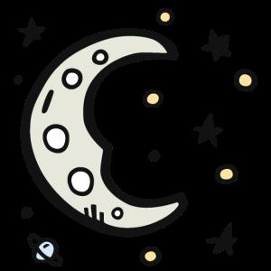 Sternzeichen Astronomie Sterne Geschenk Mond