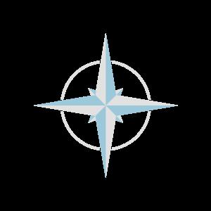 Gamer Kompass WASD Geschenk
