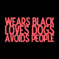 Geschenk für Introvertierte Hundeliebhaber