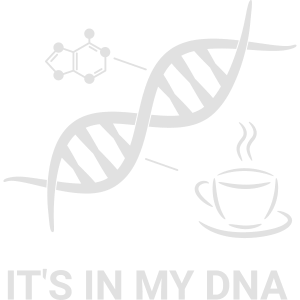 Kaffee - It's in my DNA (Kaffeetasse, Doppelhelix)