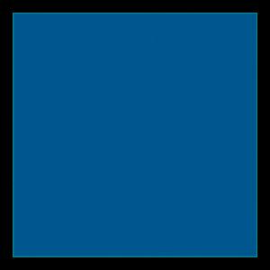 Quadrat Blau
