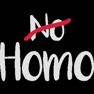 No Homo? Homo!