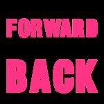 Once You Go Forward