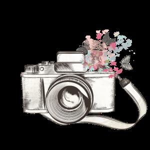 Kamera Zeichnung / Design