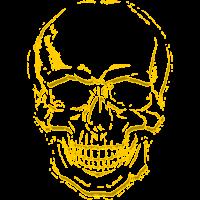 skull yellow