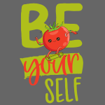 be yourself - Sei anders - Veggie Skater Tomate
