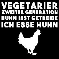 Vegetarier Huhn Witz