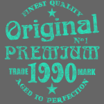 1990 Vintage Geburtstag