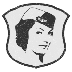 Flight Attendant Stewardess (oldstyle)