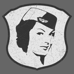 Flight Attendant Stewardesse (oldstyle)