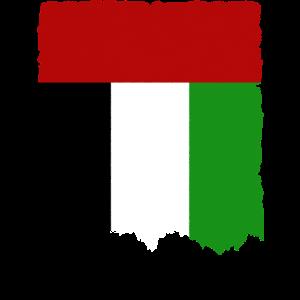 Emiraten Flagge Vintage Geschenkidee