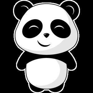 Kleiner niedlicher Panda