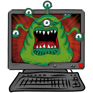 Monster Pc, Gamer, Halloween,