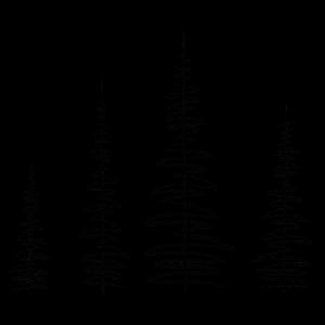 line forest - wald design