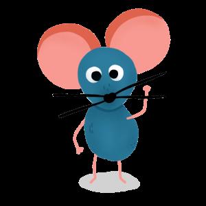 Maus Mäuschen Mausi Geschenk Kindershirt