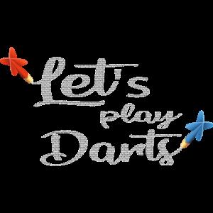Lets play Darts // Dart spielen Geschenk