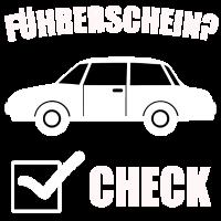 Führerschein? Check