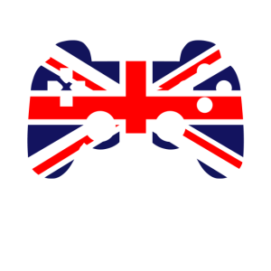 Gaming Kontroller Grossbritannien Flagge