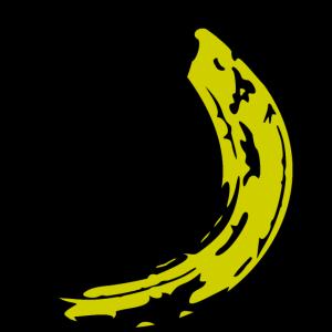 Banana Skateboard - Banane Skate - Halfpipe