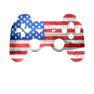 Gaming Kontroller Amerika Flagge