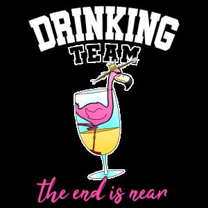 Drinking Team JGA Cocktail Party Alkohol Geschenk