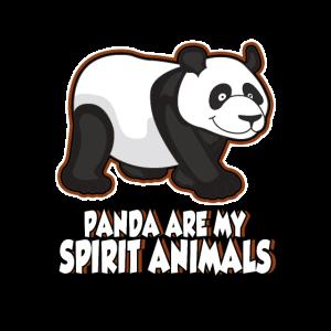 Pandas sind meine Spirit animals. Geschenkidee