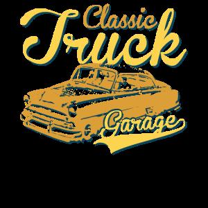 Classic Car Garage Truck Trucker T-Shirt