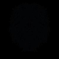 Lion Mantra - schwarz weiss
