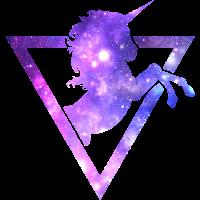 Funny Unicorn Galaxy