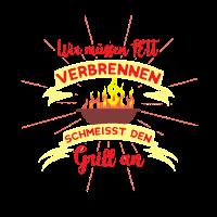 Griller BBQ T-Shirt Geschenk