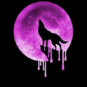 vollmond wolf t-shirt
