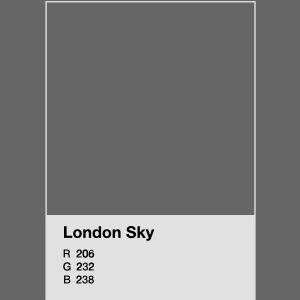 London Sky light blue