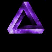 unendliches dreieck geometrie geometric