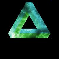 grünes Penrose Dreieck