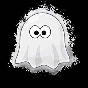 Geist Halloween hell glühend
