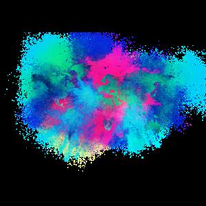 Galaxis Karte der Welt farbenfroh