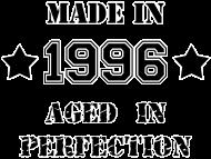 Jahrgang 1990 Geburtstagsshirt: Made in 1996
