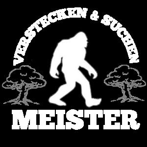 Bigfoot Verstecken und Suchen Neuheit Fun Shirt