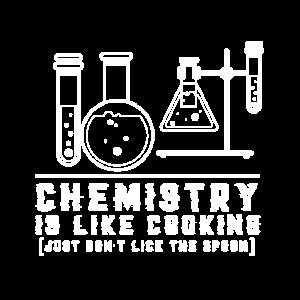 T-Shirt Lustiger Spruch Chemie Küche Geschenk