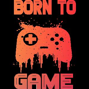 Gamer Spielekonsole Computerspiele Geschenk