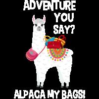 Adventure Alpaka T-Shirt