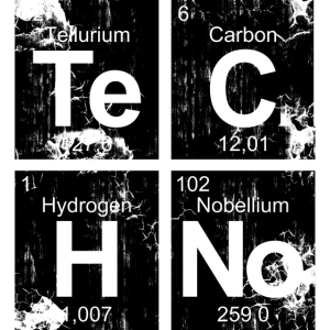 Dark Techno Elemente Black & White Paranoid Rave