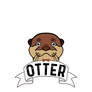 Cute Otter Design always-be-yourself Shirt